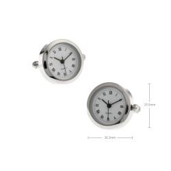 Gemelos con relojes redondos