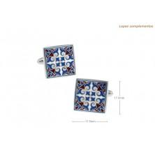 Gemelos clasicos con azulejo Sevillano
