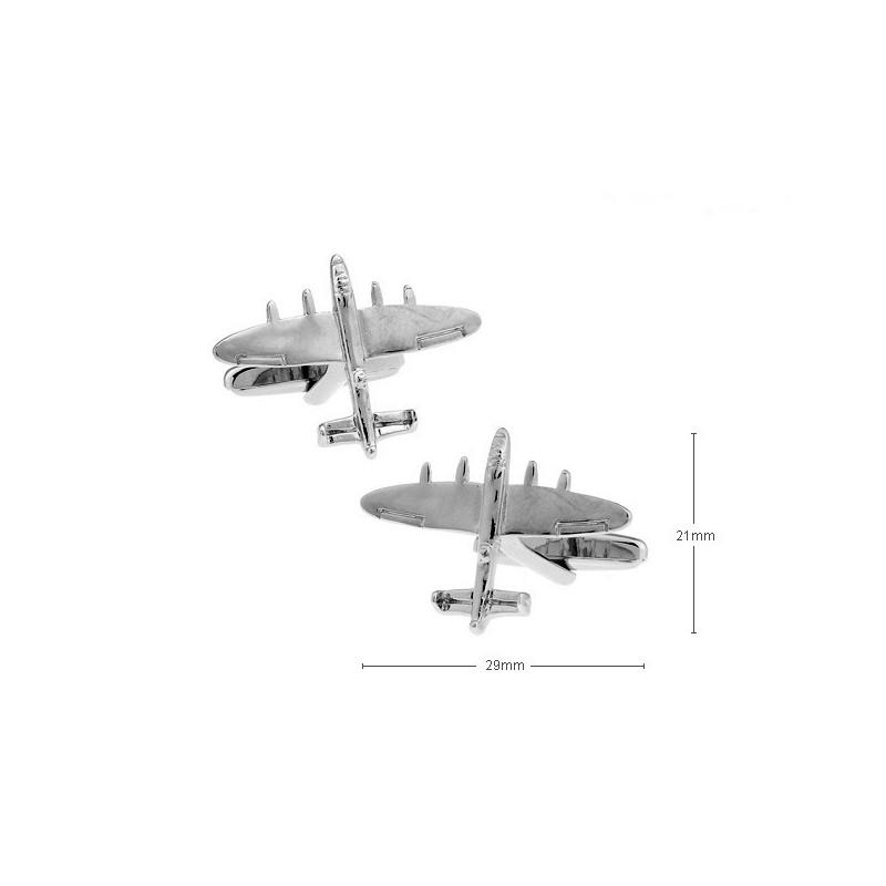 Gemelos con forma de avión Bombardero
