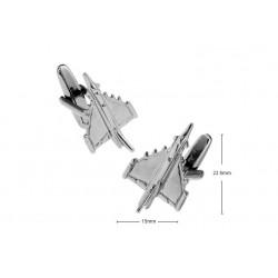 Gemelos con forma de avion de Combate Dassault Mirage 2000C 01