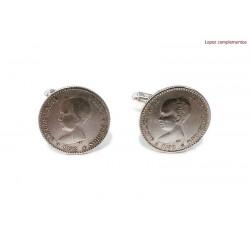 Gemelos Monedas españolas de Alfonso XIII