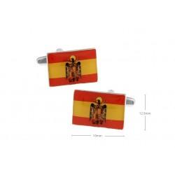 Gemelos con bandera de España