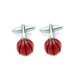 Gemelos con forma de balón de baloncesto