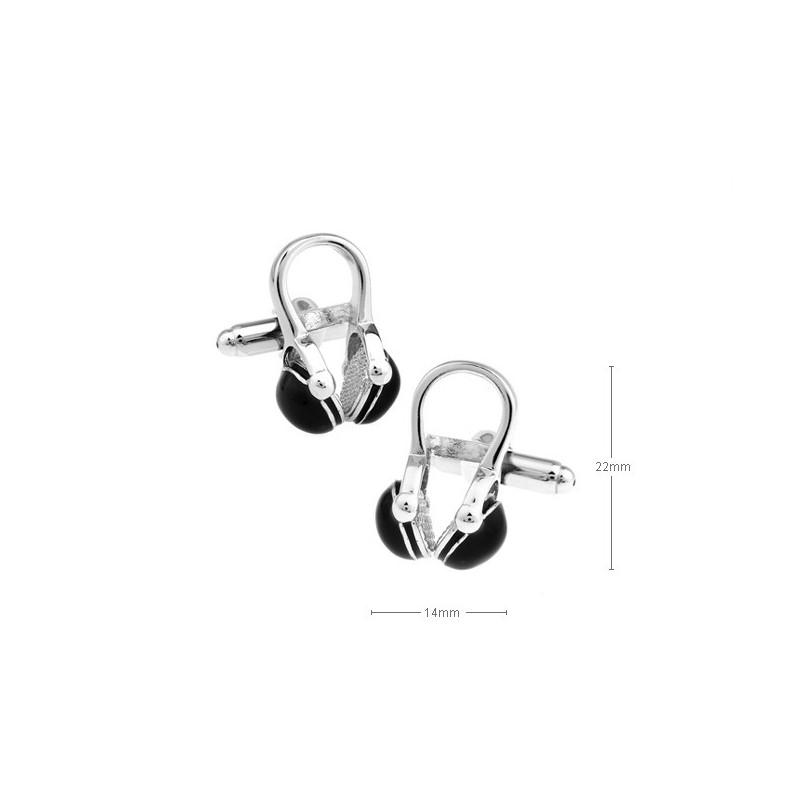 Gemelos con auriculares