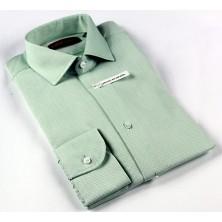 Camisa hombre vestir color verde mod.899