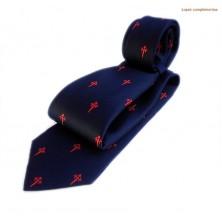 Corbata de seda con cruz de Santiago