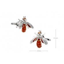 Gemelos con forma de abeja