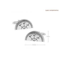 Gemelos con forma de semicirculo