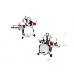Gemelos con bateria musical