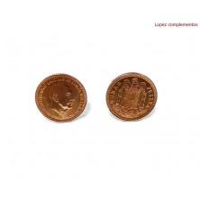 Gemelos Moneda Peseta 1966 F.Franco