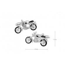 Gemelos con moto