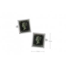 Gemelos con sello de correos