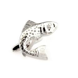 Gemelos con forma de pez