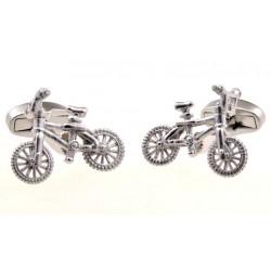 Gemelos con forma de bicicleta