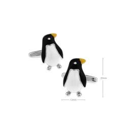 Gemelos con forma de pingüino