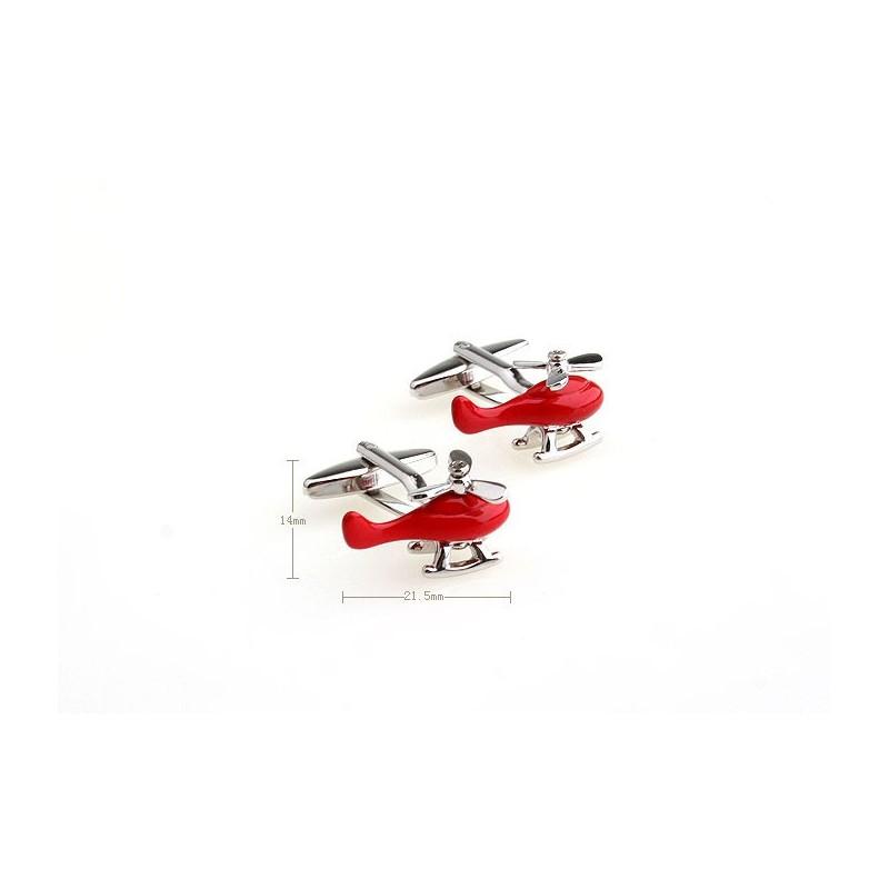 Gemelos con forma de helicoptero
