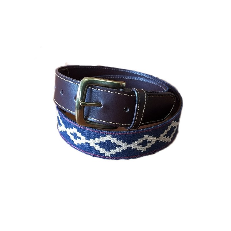 Cinturon argentino guarda pampa azul