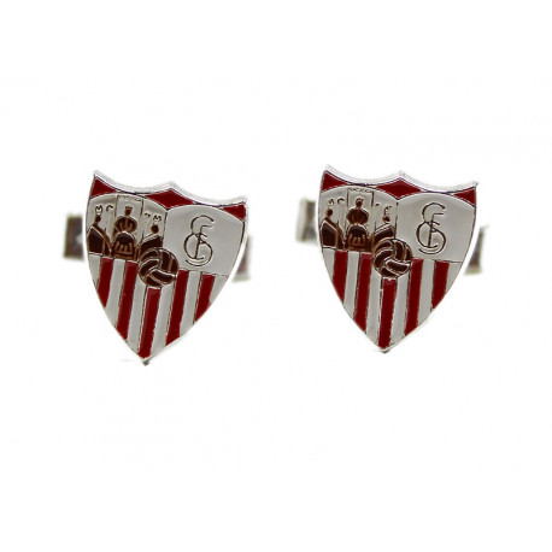 Gemelos escudo del Sevilla