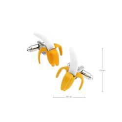 Gemelos con forma de plátano