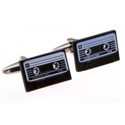 Gemelos con forma de cinta de cassette