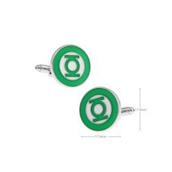 Gemelos super heroes con forma linterna verde