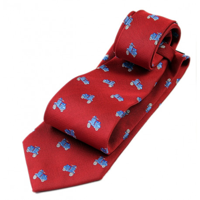 Corbata con vespas