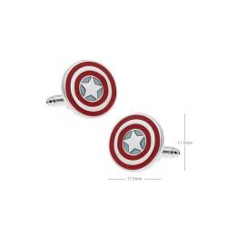 Gemelos superhéroes escudo capitan america