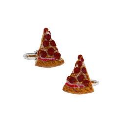 Gemelos con pizza