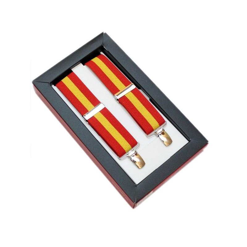 Tirantes de hombre bandera de España