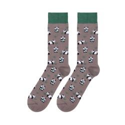 Calcetines divertidos oso panda